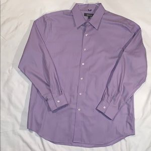 Light Purple Button-down Dress Shirt Slim Fit
